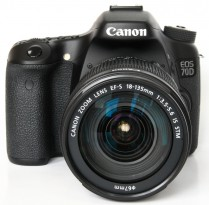 Canon EOS 70D Kit 18-135 IS STM Wi-Fi